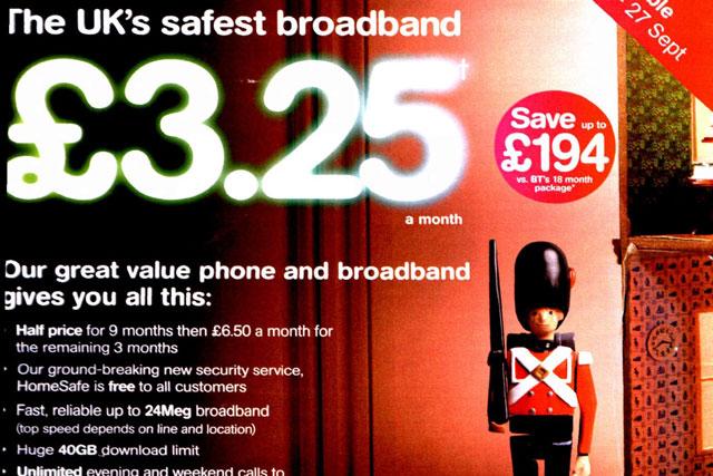 TalkTalk: ASA criticises UK's safest broadband' claim