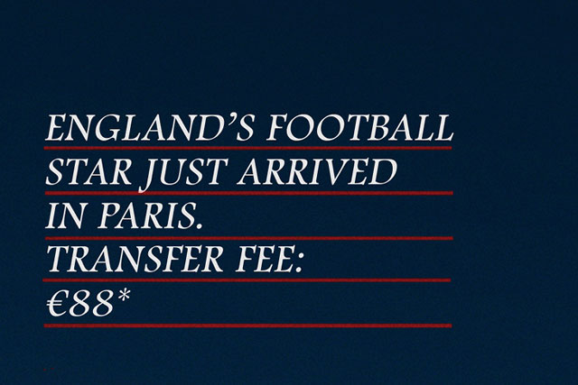 Eurostar: capitalising on David Beckham's move to Paris St Germain