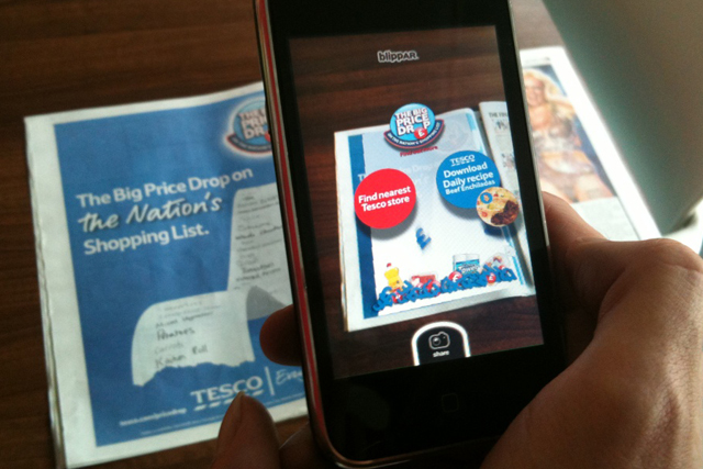 Tesco: employs image recognition technology in its price-cutting campaign