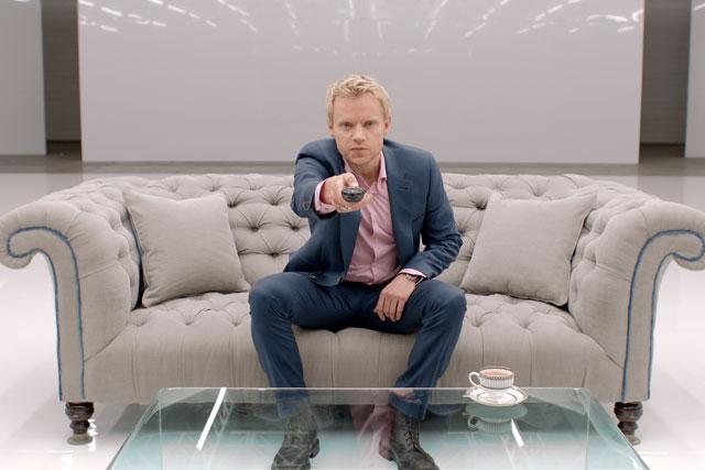 Virgin Media: actor Marc Warren stars in TiVo ad campaign