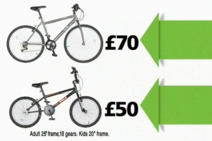 Asda... bike ad