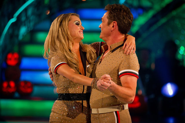 Strictly Come Dancing: Ola Jordan and Sid Owen in their final dance on Saturday