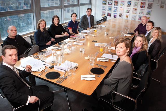 From left to right: Philip Smith, Simon Kanter, Helen Ketchin, Liz Hatherley, Lucy Naylor, Dan Chester, Alex Marks,  Andrew Taplin, Suzanne Bidlake, Julia Hutchison, Dafina Keys