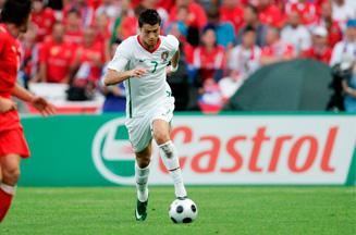 Cristiano Ronaldo promotes Castrol