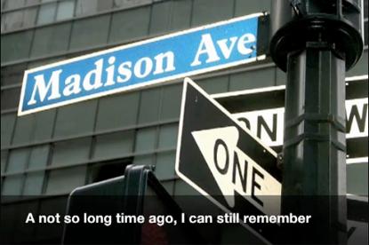 Madison Avenue spoof... YouTube hit
