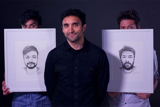 AKQA: from left, Hugo Veiga, Ajaz Ahmed and Diego Machado