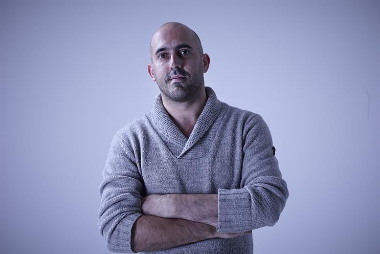 Andy Taylor: new joint executive creative director at Iris