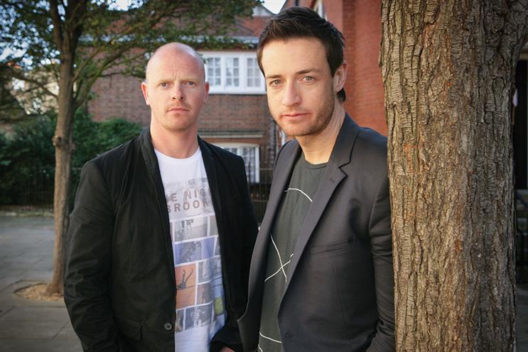 Nelson (l) and Sutherland: award-winning duo