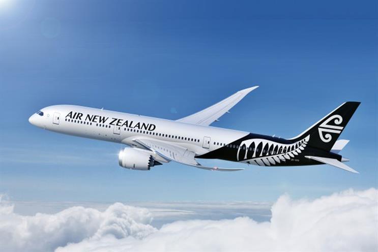 Air New Zealand: appoints Karmarama