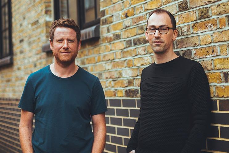 Bedwood (l) and Richings: joint creative responsibilities