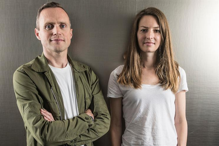 Andy Jex and Anna Vogt: joining TBWA\London