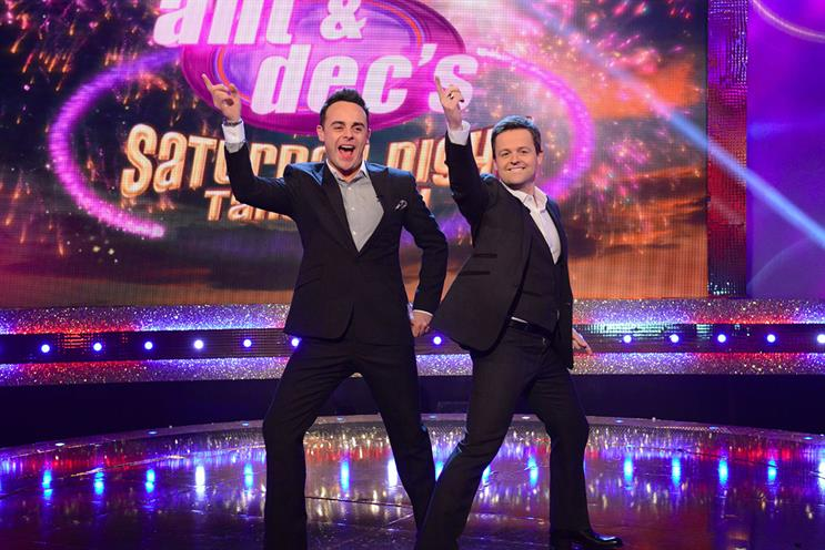 Suzuki will sponsor ITV's 'Ant & Dec's Saturday Night Takeaway'
