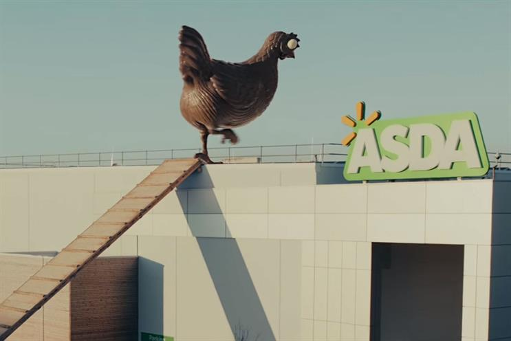 Asda: moves account from the 20-year incumbent, Carat