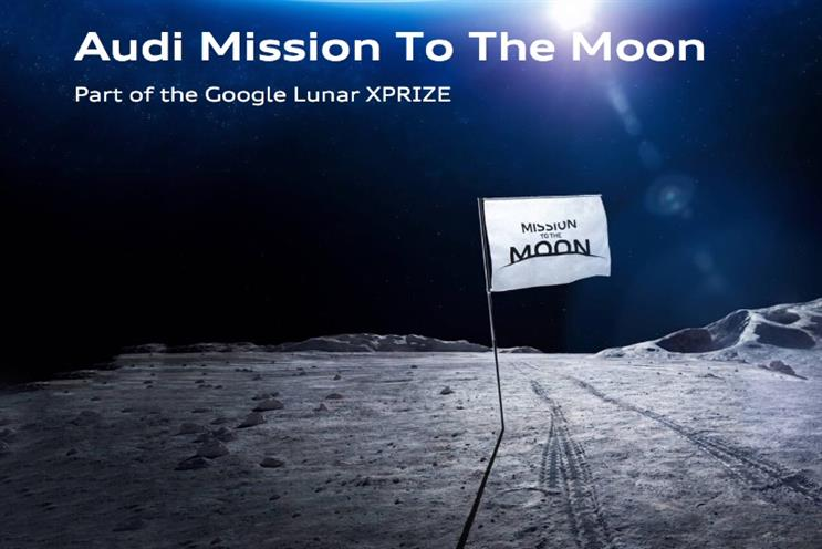 Audi: German automotive manufacturer is planning to place a rover on the moon