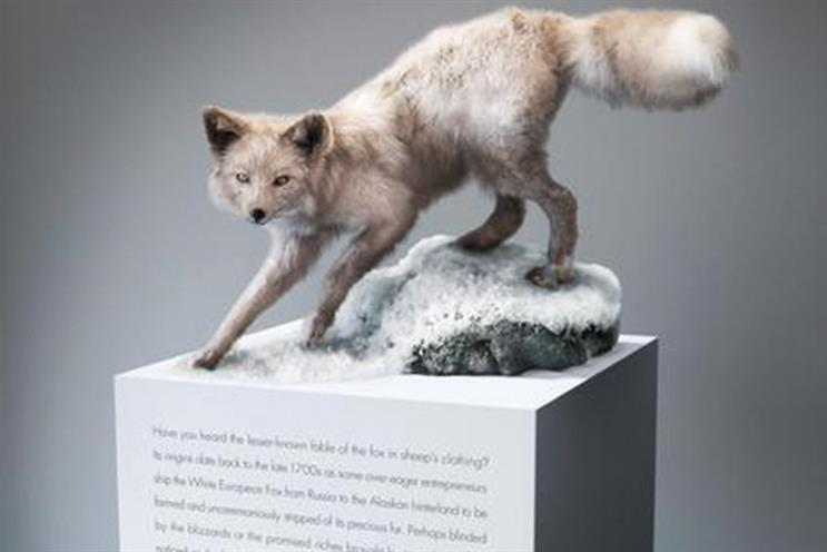 'Alopex Lagopus/Arctic Fox': Leo Burnett Melbourne's Cannes Lion-winning ad for Honda did have a head – but it belonged to a Fox
