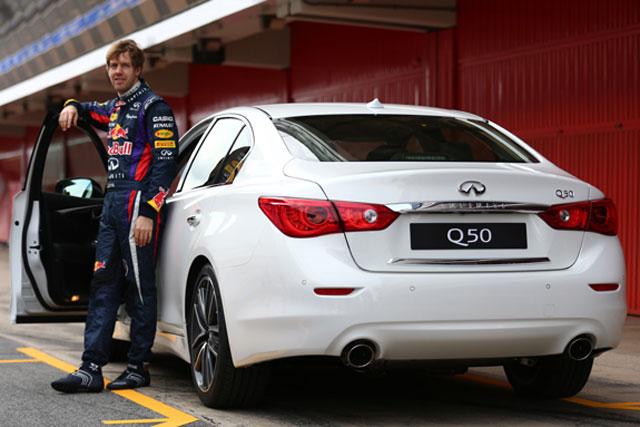 Sebastian Vettel: Infiniti's new director of performance