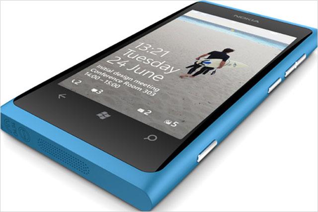 Nokia: Lumia 800 handset