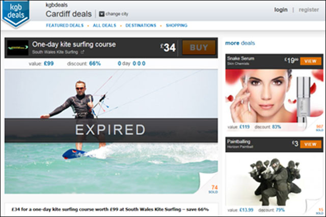 KGB Deals: kitesurfing course offer was one of two of its ads banned by the ASA