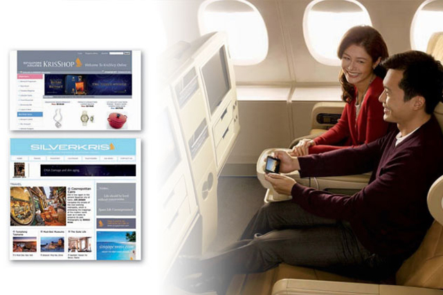 Singapore Airlines: cuts fuel costs by converting magazines to digital