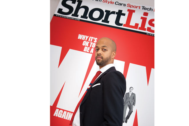 Darren Singh, publisher, Shortlist