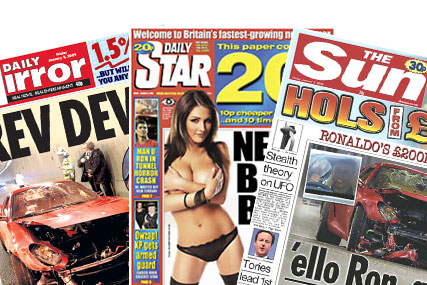 Daily sales: only the Daily Star reported increased circulation in the December ABC figures