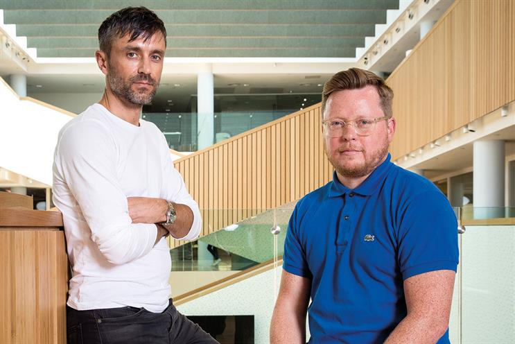 Heartfield and Austin: Bartle Bogle Hegarty's first joint executive creative directors