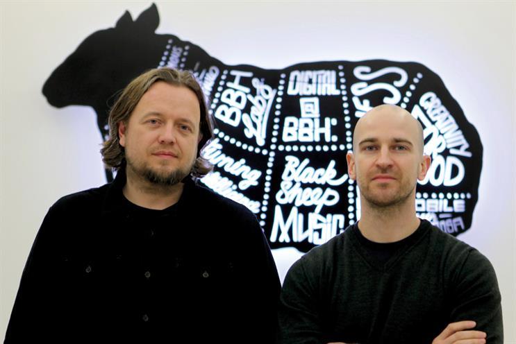 Lawson (l) and de la Peña: 'new breed' of creatives