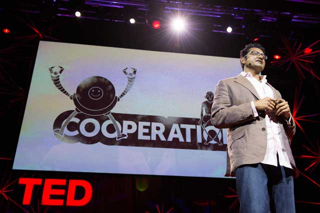 Ted: speakers covered topics as diverse as Femto photography to levitation