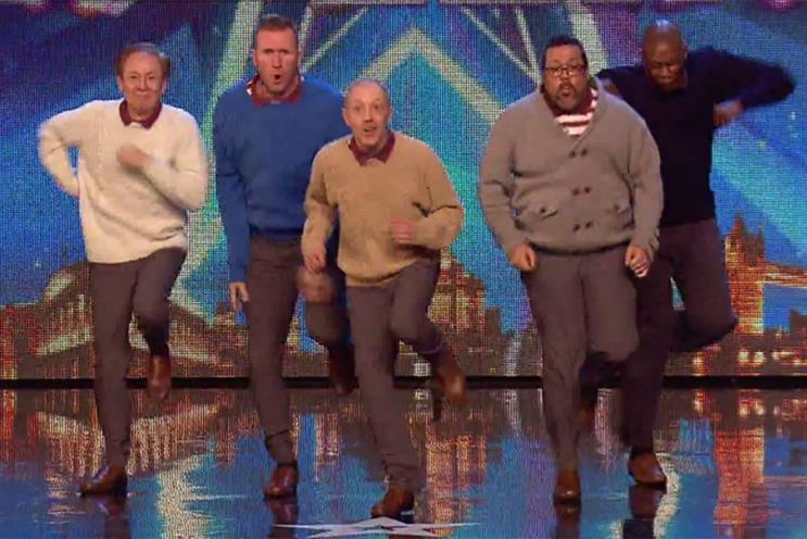 Old Men Grooving: appear on Britain's Got Talent