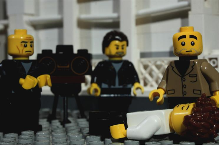Lego: the campaign by PHD was one of many from the UK to have 'energy and originality'