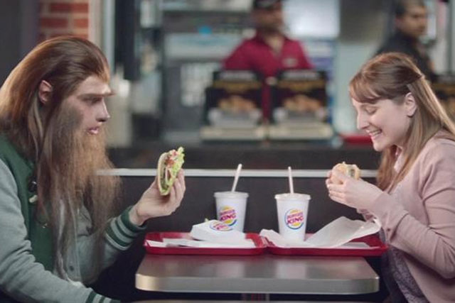 Burger King: 'wolfman' campaign