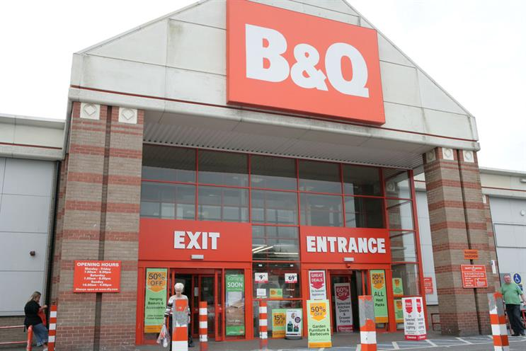B&Q: WCRS is tasked with increasing customer engagement
