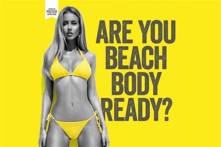 The number of complaints about ads on public transport was up 153%, with many about Protein World