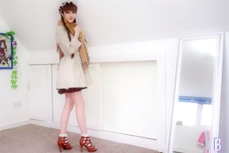 YouTuber Beckii Cruel worked with high street brand New Look