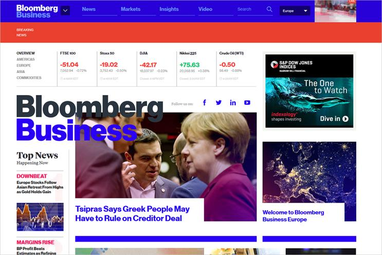 Bloomberg Business Europe: launches today