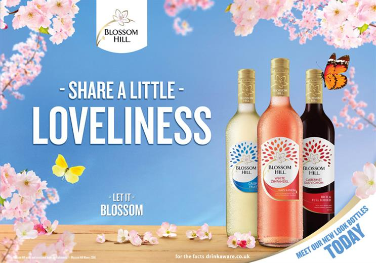 Blossom Hill was last on TV two years ago, when it was owned by Diageo