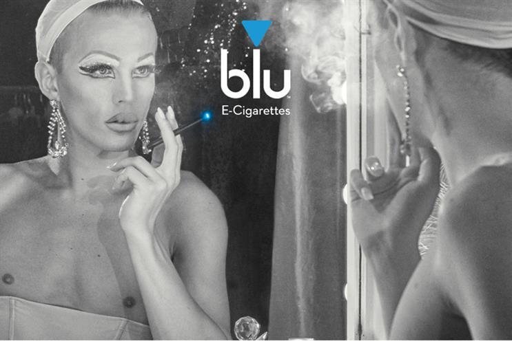 Blu: the e-cigarette brand's latest campaign
