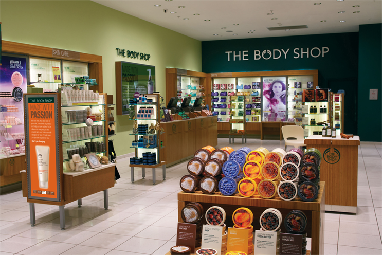 The Body Shop: Cake will communicate the 'beauty with heart' positioning