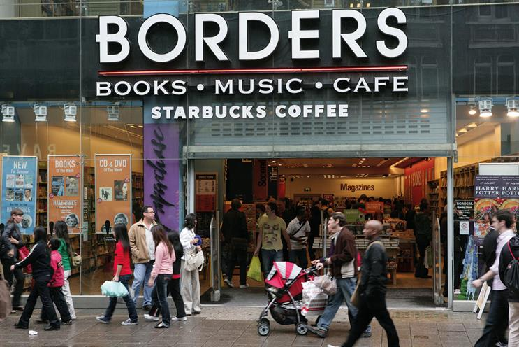 Borders expanded rapidly in the US and other markets, as well as offering products beyond books
