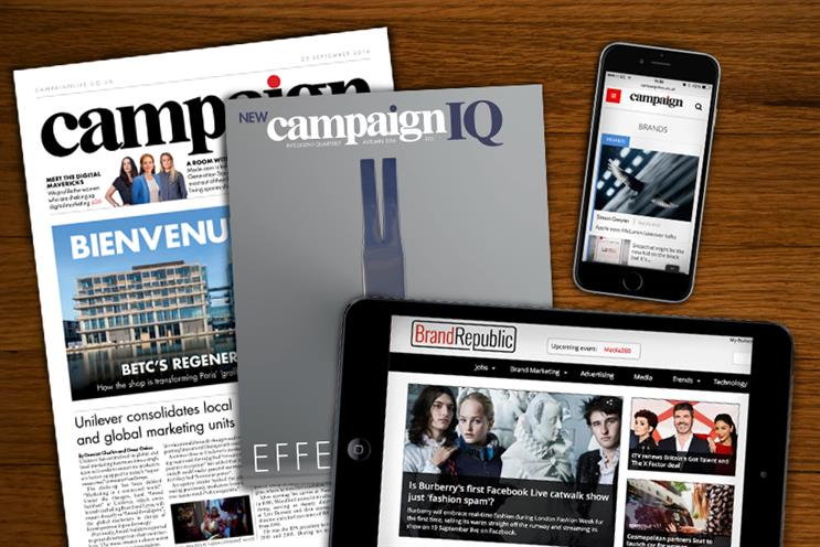 Brand Republic's content has been integrated into the new Campaign
