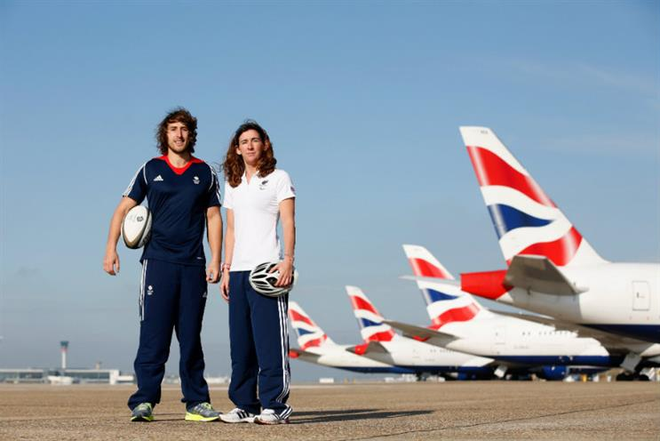 Rugby sevens star Dan Bibby with para-triathlon hopeful Melissa Reid