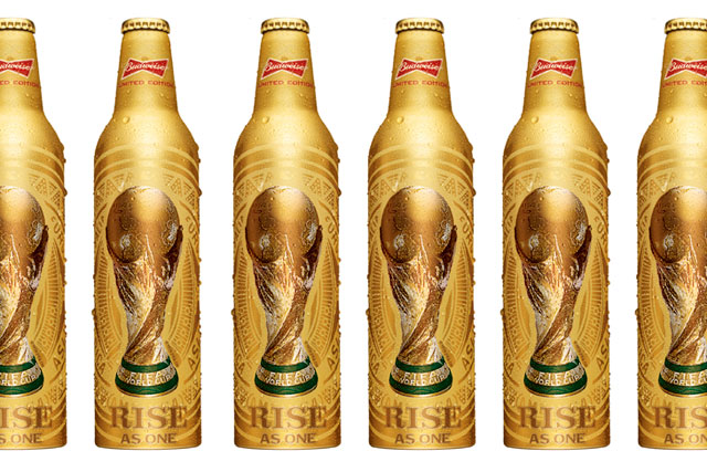 Budweiser: rolls out World Cup bottles