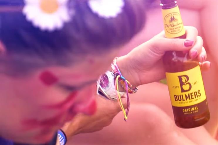 Bulmers: Ogilvy won the business from Adam & Eve/DDB