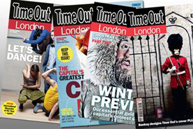 Time Out: mulls plans to convert into free weekly