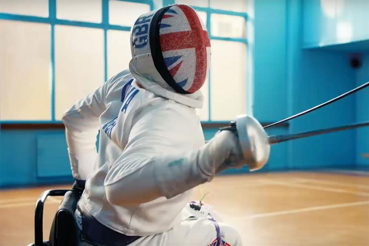 Tonge won best creative direction for Channel 4's 'Superhumans' Paralympics campaign