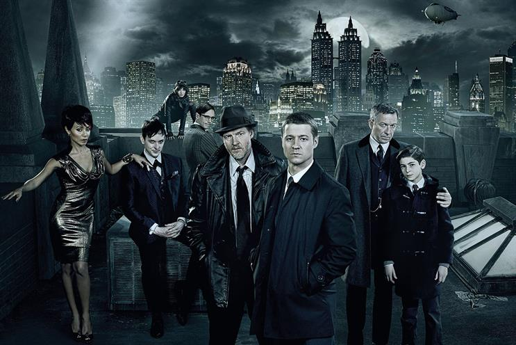 Gotham: shows such as the Batman prequel are boosting Channel 5's profile. Credit: Warner Bros International