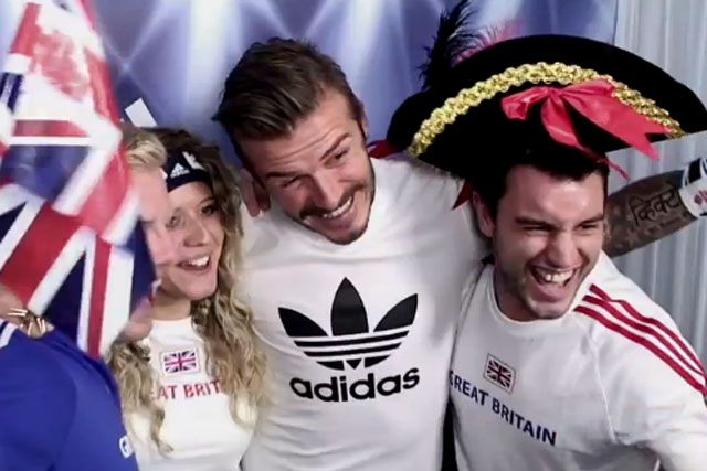 Adidas: The 10 Group's viral features David Beckham's surprise appearance in a photo booth