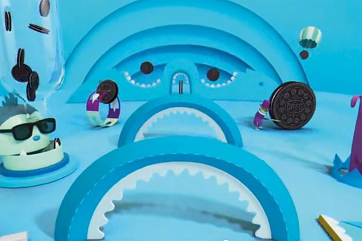 Mondelez ran a programmatic TV test during the Super Bowl for its Oreo brand