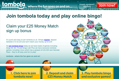 Tombola…appointed Euro RSCG
