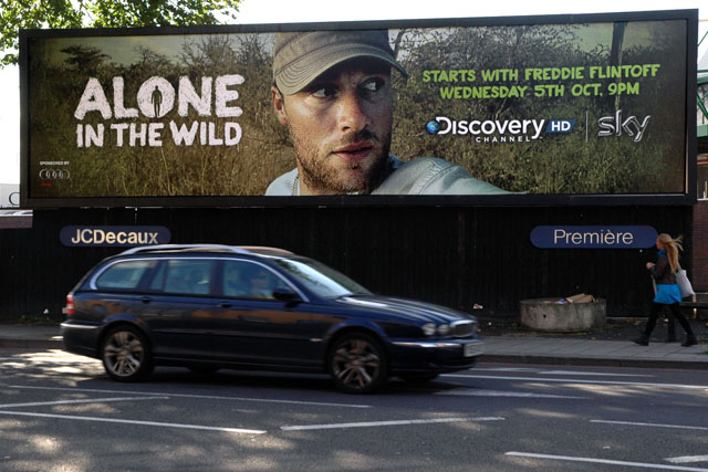 Alone in the Wild: new series begins on Wednesday with Freddie Flintoff